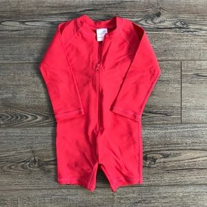 Hanna Andersson Rash Guard Suit 18mos